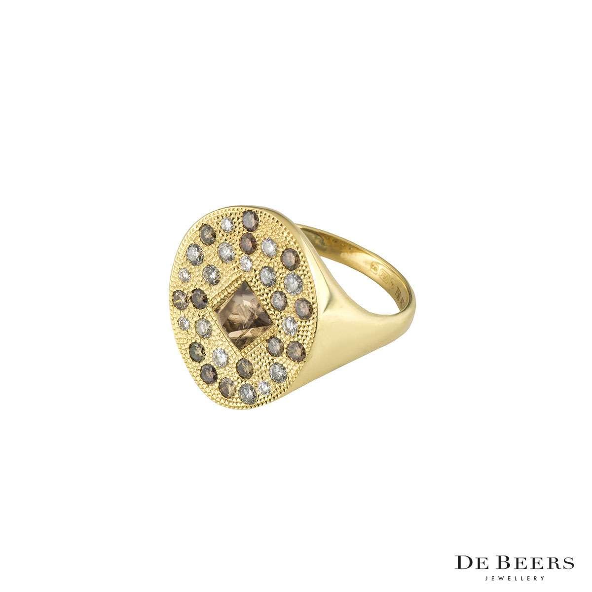 De Beers Diamond Ring S